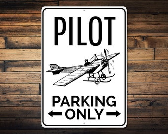 Aircrew Only Sign Aviation Gift Aircraft Theme Airplane