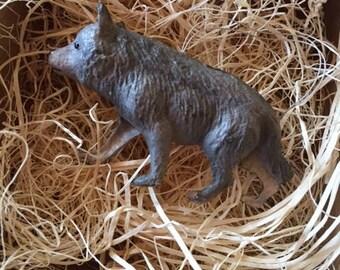 Neue Dresden 3D Papier Wolf Ornament Weihnachtsdekoration