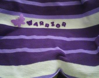 Lupus survivor/awareness blanket