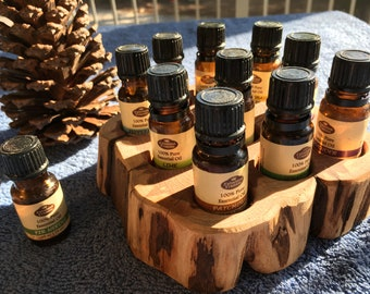 Essential Oil Holder Display Stand (10 Bottles)