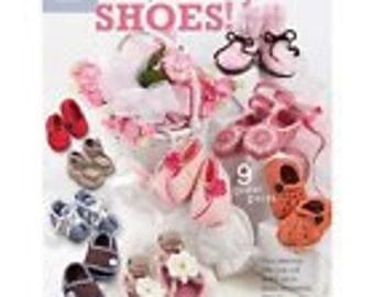 Beautiful Baby Shoes by Lisa Van Klaveren  - crochet book / booklet