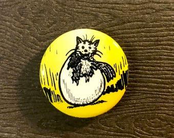 "Catbird 1"" Pinback Button"