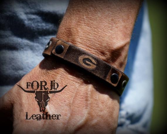 Vintage Leather Bracelet, Leather Bracelet
