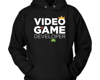 Video Game Developer hoodie. Cute and funny gift idea