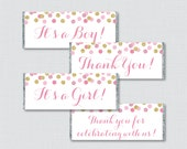 Pink and Gold Printable C...