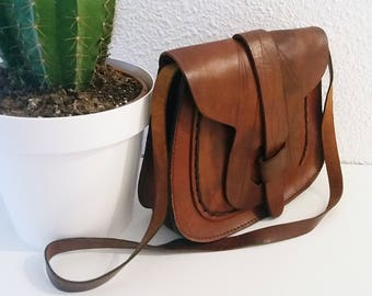Boho Leather Purse.
