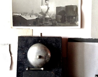 Vintage Modern Counter Top Service Bell Steampunk