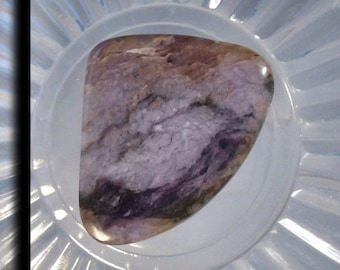 Lavender Jasper Stone Designer Cabochon 6055