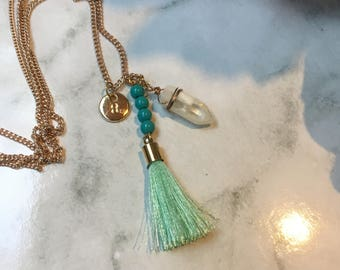 Tassel Dangle Necklace