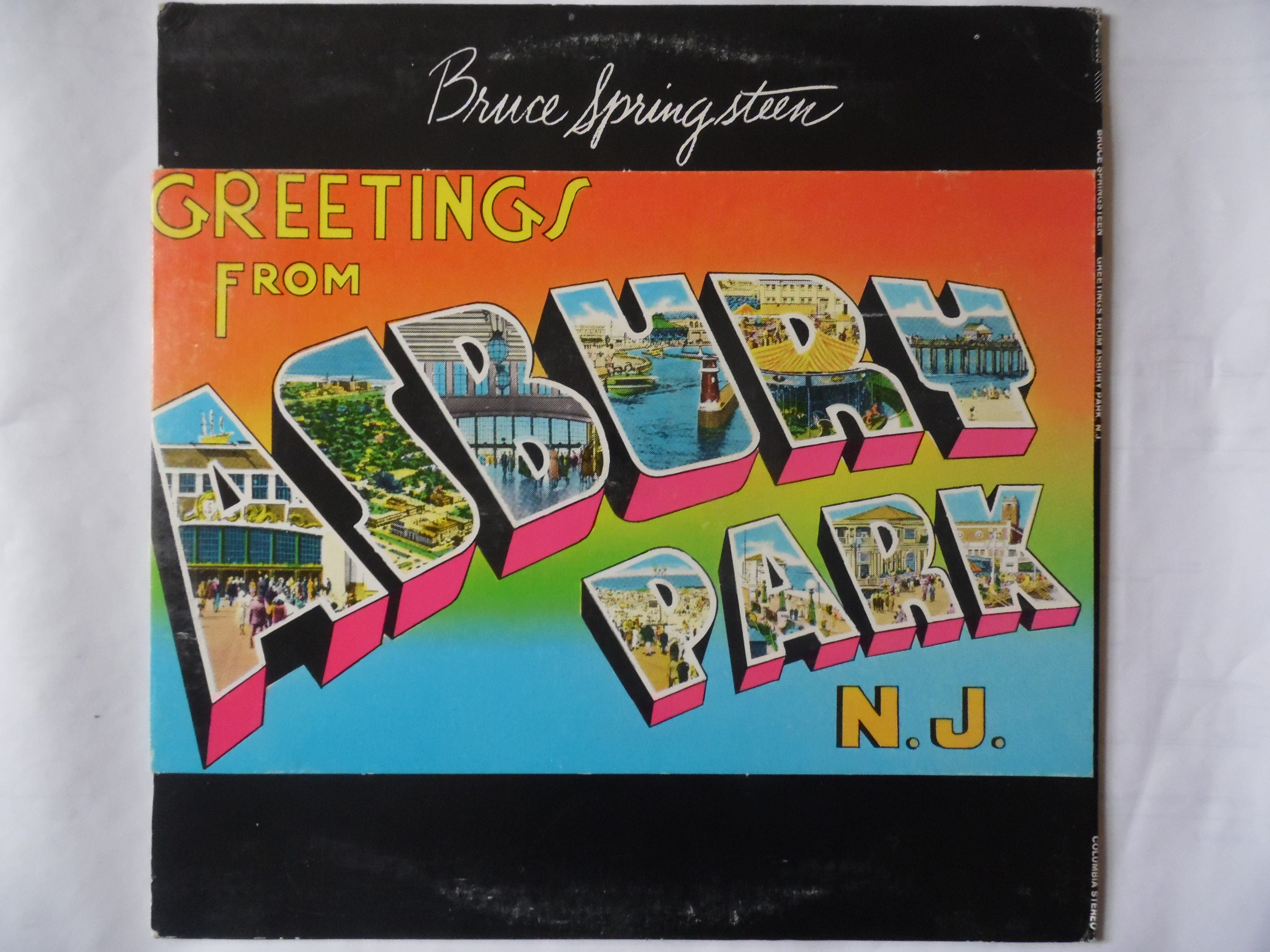 Bruce springsteen greetings from asbury park nj vinyl description greetings from asbury park from the boss bruce springsteen m4hsunfo