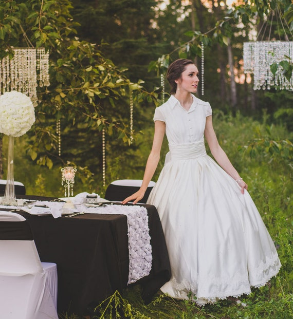 Fairy Tale 2 Stück Ballkleid Brautkleid Retro Hochzeitskleid