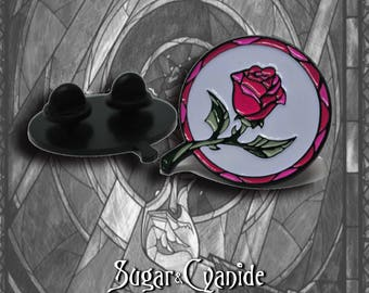 Enchanted Rose Soft Enamel Pins