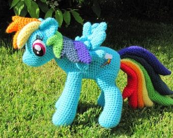 Rainbow Dash Pattern - My Little Pony