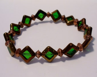 SALE Copper Stretch Bracelet