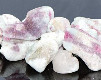 Rough Pink Tourmaline - Gemstone for the Heart Chakra