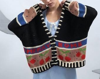 Cherry Bomb Knit Sweater