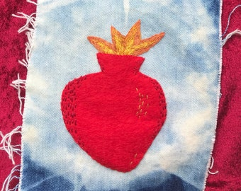 Sacred Heart Patch