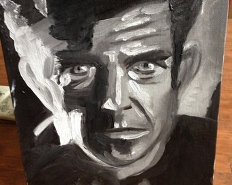 Mel Gibson in oils - collectors love this