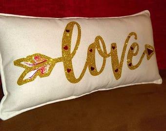 Love custom made Pillow