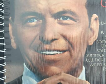 for the Frank Sinatra's Greatest Hits Chairman of the Board/ Rat Pack fan !! Vinyl Album Cover Notebook