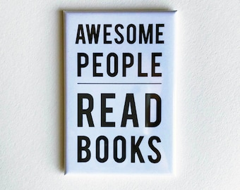 Awesome People Read - Magnet