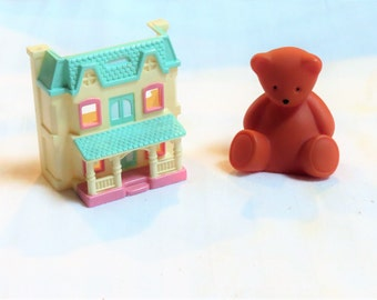 Dollhouse Little Tikes Furniture Dolls Toy Bear Grand Mansion And Fisher  Price Doll House For Dollhouse