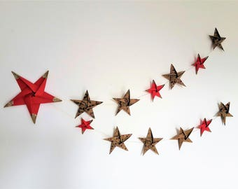 Christmas wall decor / shooting star