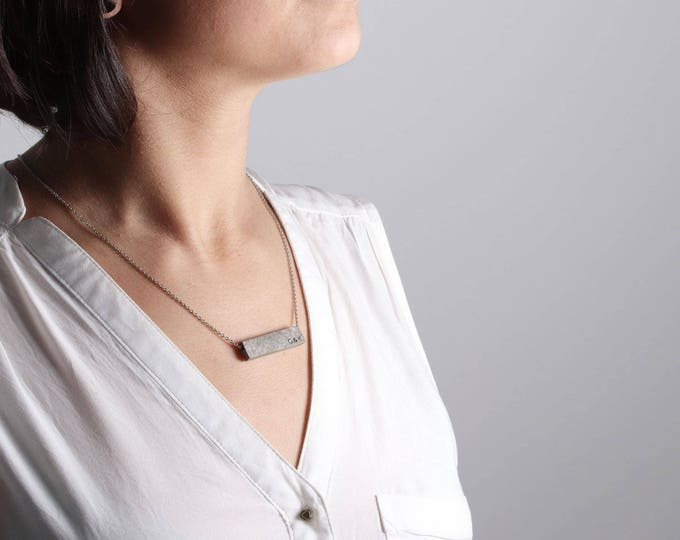 One year anniversary, 1st Anniversary Gift for Her,  Paper Marble Necklace, Gifts for Her 1 year