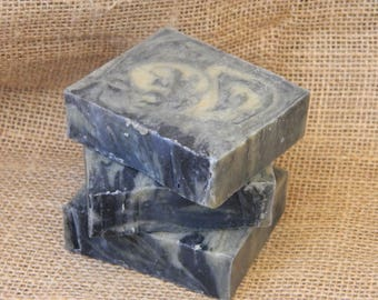 Dirt Goats Milk Soap with added activated charcoal