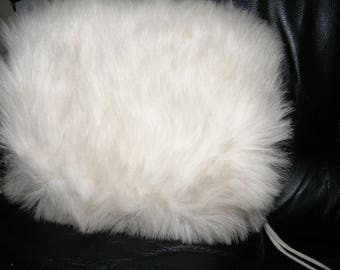 Vintage Faux Fur Muff to Keep Your Hands Warm Elegantly