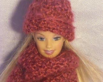 49 Beanie and snoud dolls Barbie type