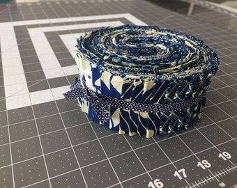 Bouza Collection African Wax Print Jelly Roll