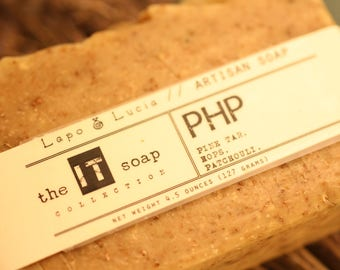 PHP | the IT soap | Artisan Soap | Handmade Soap