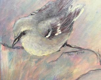 Mockingbird painting