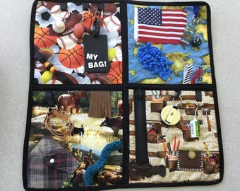 Fidget and Activity Quilt for Alzheimer/Dementia Loved Ones