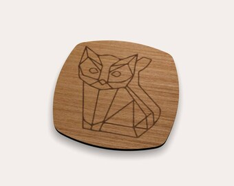 Cat Coaster 262-450 (Set of 4)