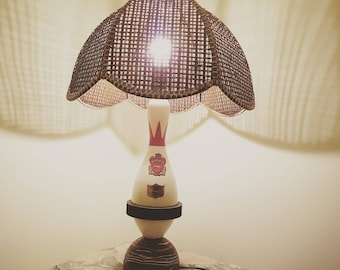 Handcrafted Vintage Bowling Pin Lamp