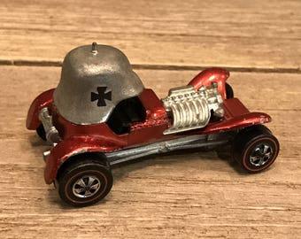 Vintage (1969) Authentic REDLINE Hot Wheels Red Baron Die Cast