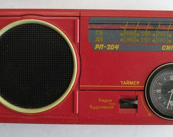 The radio receiver made in USSR