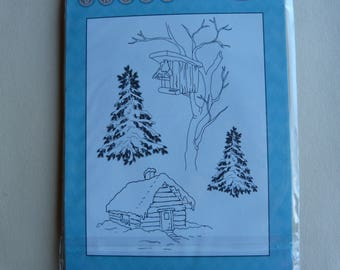 "Clear stamp set ""winter"""