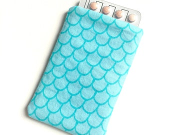 Pill Case Birth Control Cozy - Mermaid Tail