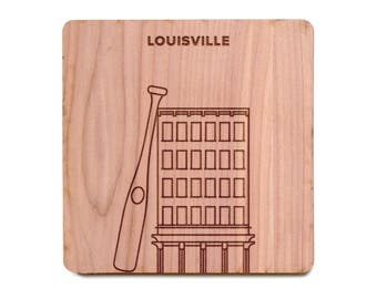 Louisville Coaster - Louisville Slugger Museum