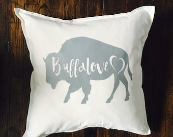 Buffalove Pillow Cover