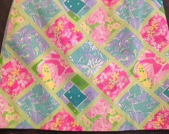 Lilly Pulitzer Woman's Patchwork Skirt