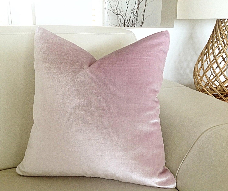 Velvet Cushions Pink Velvet Pillows Bedroom Cushion Covers