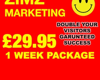 PROMOTE YOUR SHOP - 1 week
