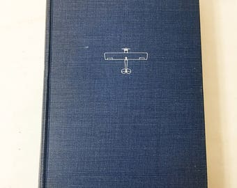 The Spirit of St. Louis by Charles Lindbergh. FIRST American EDITION circa 1953. Pulitzer Prize-winning book. Pilot book lover gift aviation