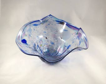 Blown Glass Bowl - Bloom #2