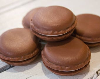 Chocolate Macaroon Lip Butter, Lip Moisturizer, Moisturizing Lip Balm, Lip Balm Favor, Beeswax Lip Balm, Lip Butter, Herb Infused, Stocking
