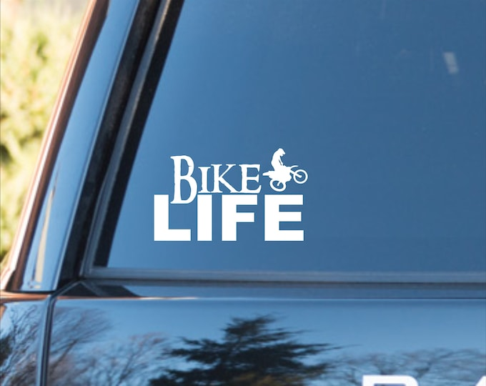 Bike Life vinyl decal, Motocross decal, Motorcycle decal, Moto sticker, Motorcycle vinyl sticker, Bike Life motorcycle sticker, Motorcycle